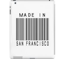 Made in San Francisco iPad Case/Skin
