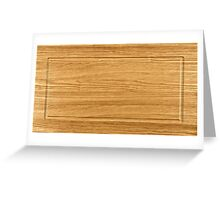wooden frame Greeting Card