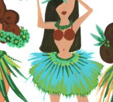 Luau Girls Sticker