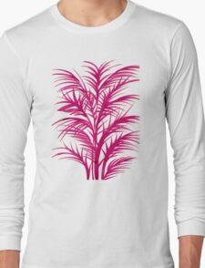 Pink Palms Long Sleeve T-Shirt