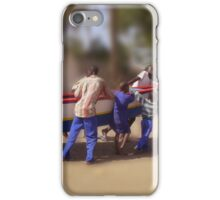 Hauling the Boat iPhone Case/Skin