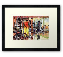The Factory Worker. Framed Print