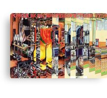 The Factory Worker. Canvas Print
