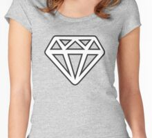 Diamond and Coal Women's Fitted Scoop T-Shirt
