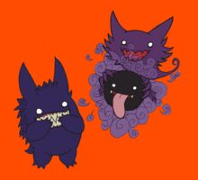 Gastly, Haunter, and Gengar Kids Clothes
