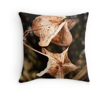 Seed capes. Throw Pillow