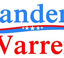 SANDERS WARREN PRESIDENT & VICE 2016 by colormecolorado