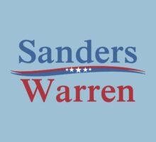 SANDERS WARREN PRESIDENT & VICE 2016 T-Shirt