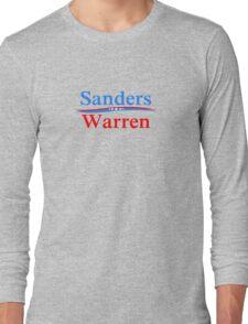 SANDERS WARREN PRESIDENT & VICE 2016 Long Sleeve T-Shirt