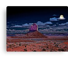 Moonlight Serenade in Arizona Canvas Print