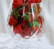 Fresh Strawberries by Catherine Sherman