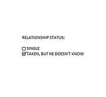 RELATIONSHIP STATUS by itsfrancheese