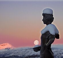 The Moon is a Harsh Mistress by Bodil Kristine  Fagerthun