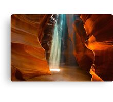 And There Was Light Canvas Print