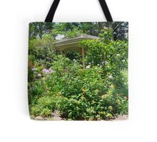 Gazebo at June's Garden, Bayou George, FL Tote Bag