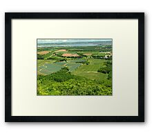 The Green Fields of Home Framed Print