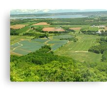 The Green Fields of Home Metal Print
