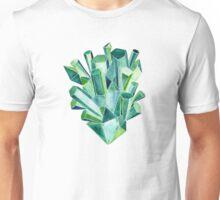 Emerald Watercolor Unisex T-Shirt