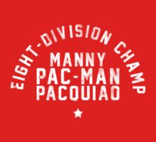 Manny Pacquiao - Letterpress Kids Clothes