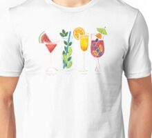 Summer Cocktails Unisex T-Shirt