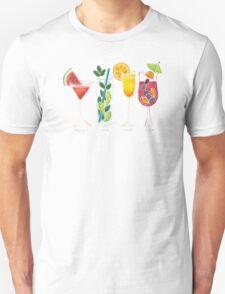Summer Cocktail Trio T-Shirt