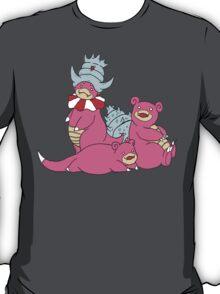 Slowpoke, Slowbro, and Slowking T-Shirt