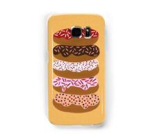 Donuts Stacked on Yellow Samsung Galaxy Case/Skin