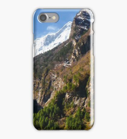 Majestic Mountains iPhone Case/Skin