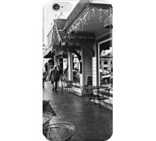 A Rainy Afternoon in the Square iPhone Case/Skin