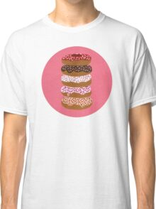 Donuts Stacked on Cherry Classic T-Shirt