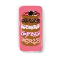 Donuts Stacked on Cherry Samsung Galaxy Case/Skin
