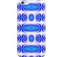Kaleidoscope Gradient (Blue and Turquoise) iPhone Case/Skin