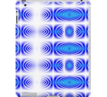 Kaleidoscope Gradient (Blue and Turquoise) iPad Case/Skin