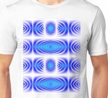 Kaleidoscope Gradient (Blue and Turquoise) Unisex T-Shirt