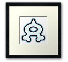 Team Aqua Logo Framed Print