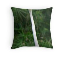 Don't Ruffle My Feathers! Throw Pillow