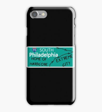 ECW Philadelphia - Hardcore City T shirt iPhone Case/Skin