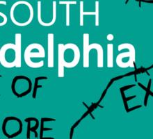 ECW Philadelphia - Hardcore City T shirt Sticker
