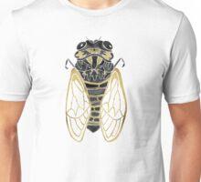 Cicada – Black & Gold Unisex T-Shirt