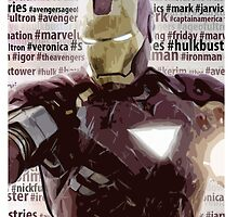 IronMan #hashtag by KeCortez