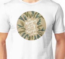 Mountains Calling – Kraft Unisex T-Shirt