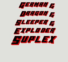 Suplex Variations T - Shirt Unisex T-Shirt