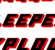 Suplex Variations T - Shirt Sticker