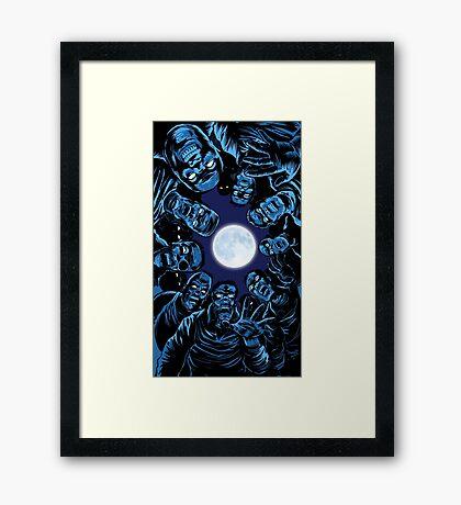 moonlight zombies... Framed Print