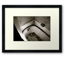 Bathtub Framed Print
