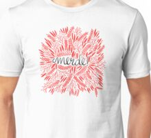 Pardon My French – Red & Cream Unisex T-Shirt
