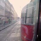 Tram through Vienna by daynov
