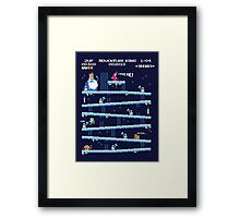 Adventure Time Donkey Kong Framed Print