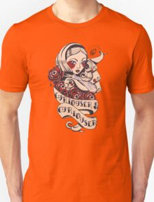 Curiouser Alice  Unisex T-Shirt