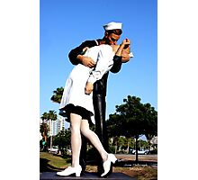 Unconditional Surrender Photographic Print